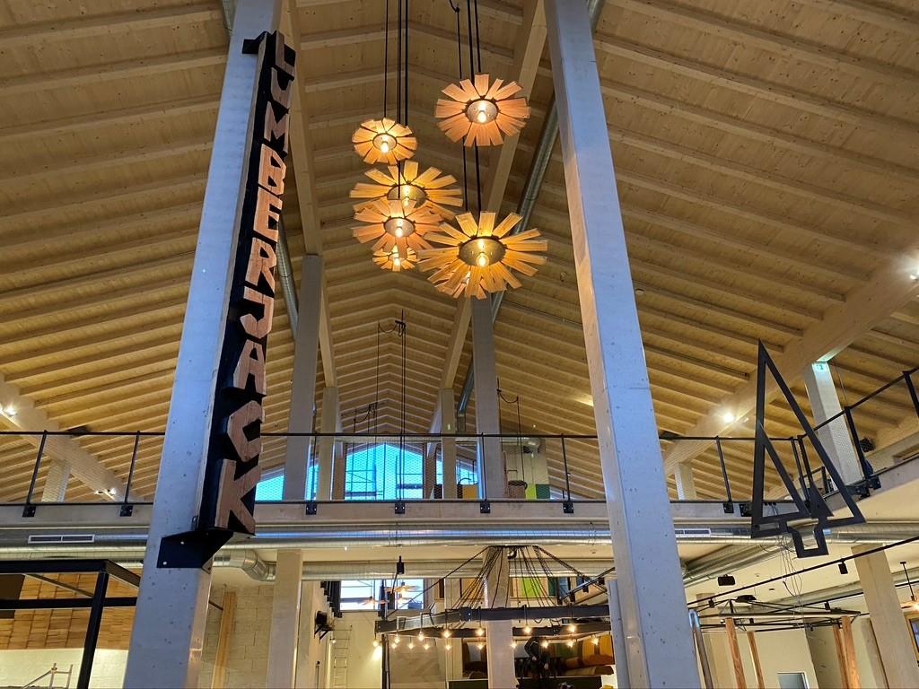 Lumberjack Foodhall Sichtdecke