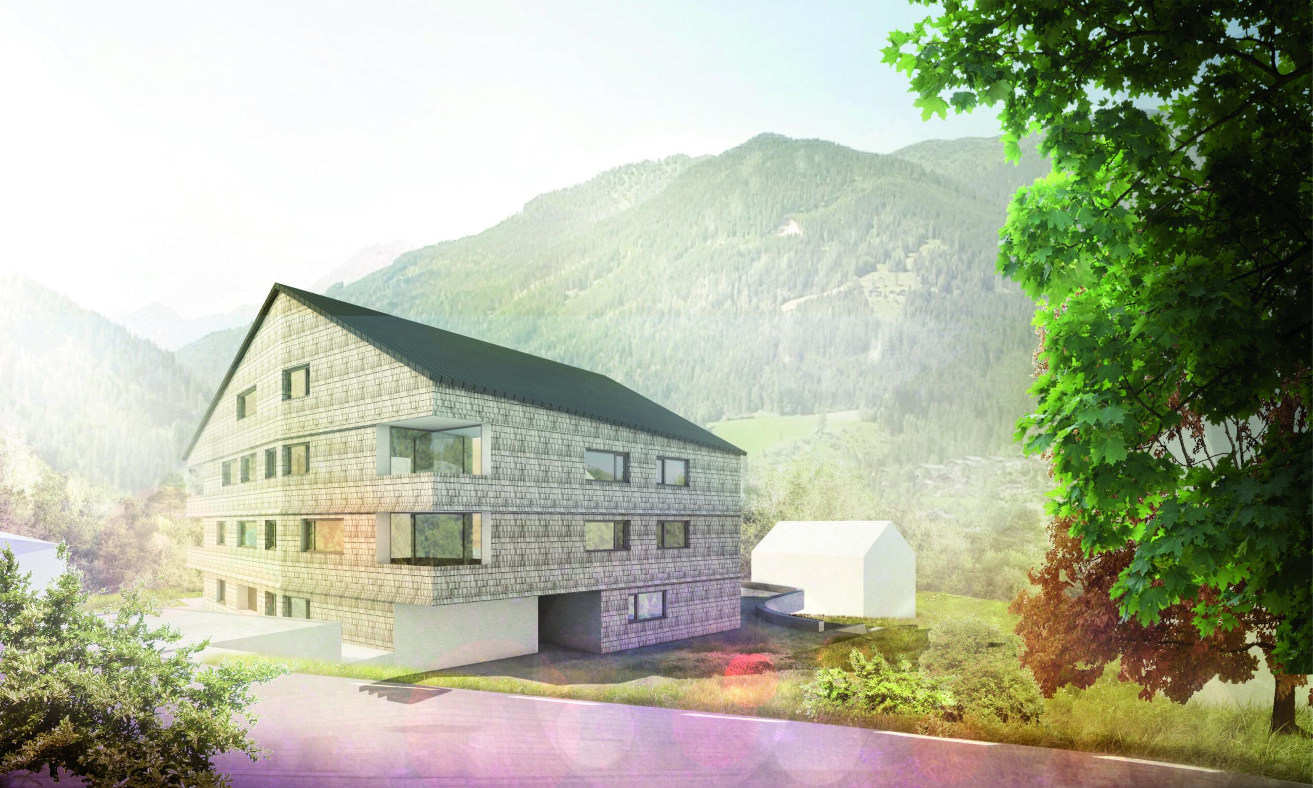 Visualisierung Wohnbau Haid