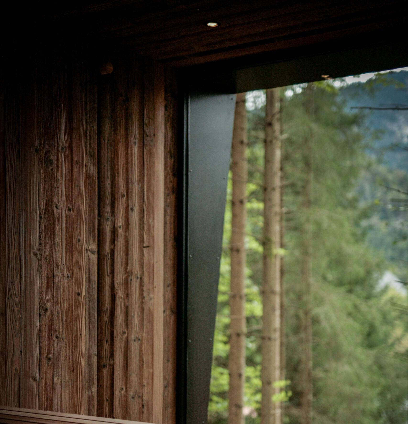 Detail innen Fenster