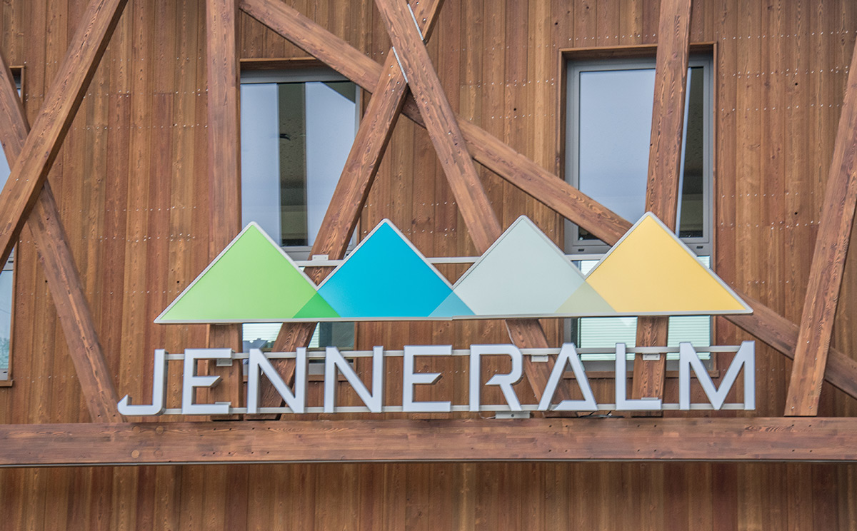 Jennerbahn Bergstation Logo